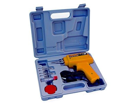 Max-Power 040272 Lötpistole mit Zubehörartikel, in kleinem Koffer
